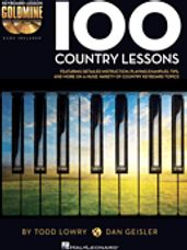 100 Country Lessons (Book and 2 CDs)