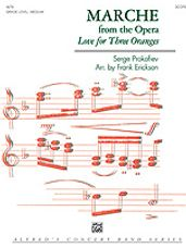 March from the Opera Love for 3 Oranges (Full Score)