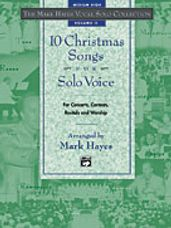 10 Christmas Songs for Solo Voice - Med High CD Only