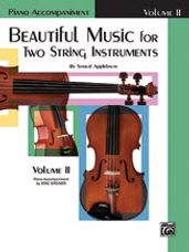 Beautiful Music for Two String Instruments, Book II [Piano Acc.]