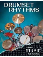 Alfred's Music Playing Cards: Drumset Rhythms