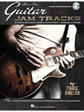 All-in-One Guitar Jam Tracks (Book and CD)
