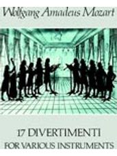 17 Divertimenti for Various Instruments (WWD & String Inst)