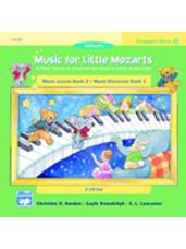 CD 2-Disk Sets for Lesson and Discovery Books, Level 2 Music for Little Mozarts