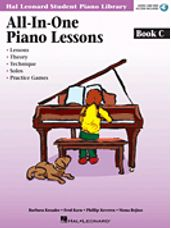 Hal Leonard: All-in-One Piano Lessons Book C