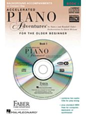 Accelerated Piano Adventures® Lesson Book 1, (2 CDs)