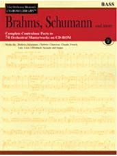 Brahms, Schumann & More - Volume 3 (Bass Bk/CD)