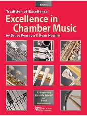 Excellence in Chamber Music Book 1 - Tenor Sax