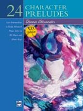 24 Character Preludes (Book/CD)