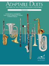 Adaptable Duets (Percussion)