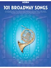 101 Broadway Songs (F Horn)
