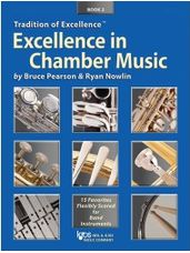 Excellence in Chamber Music Book 2 (Tenor Saxophone)