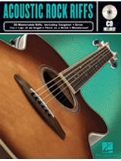 Acoustic Rock Riffs (Guitar BK/CD)