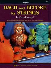Bach And Before For Strings (String Bass)