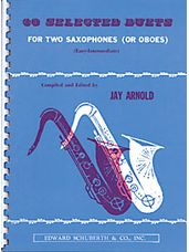 30 Selected Duets For Two Saxophones (Or Oboes): Book 1