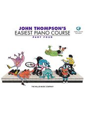 John Thompson's Easiest Piano Course Part 4 - Book/Audio