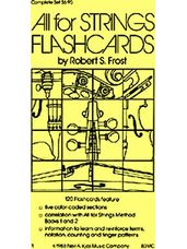 All For Strings-Flashcards